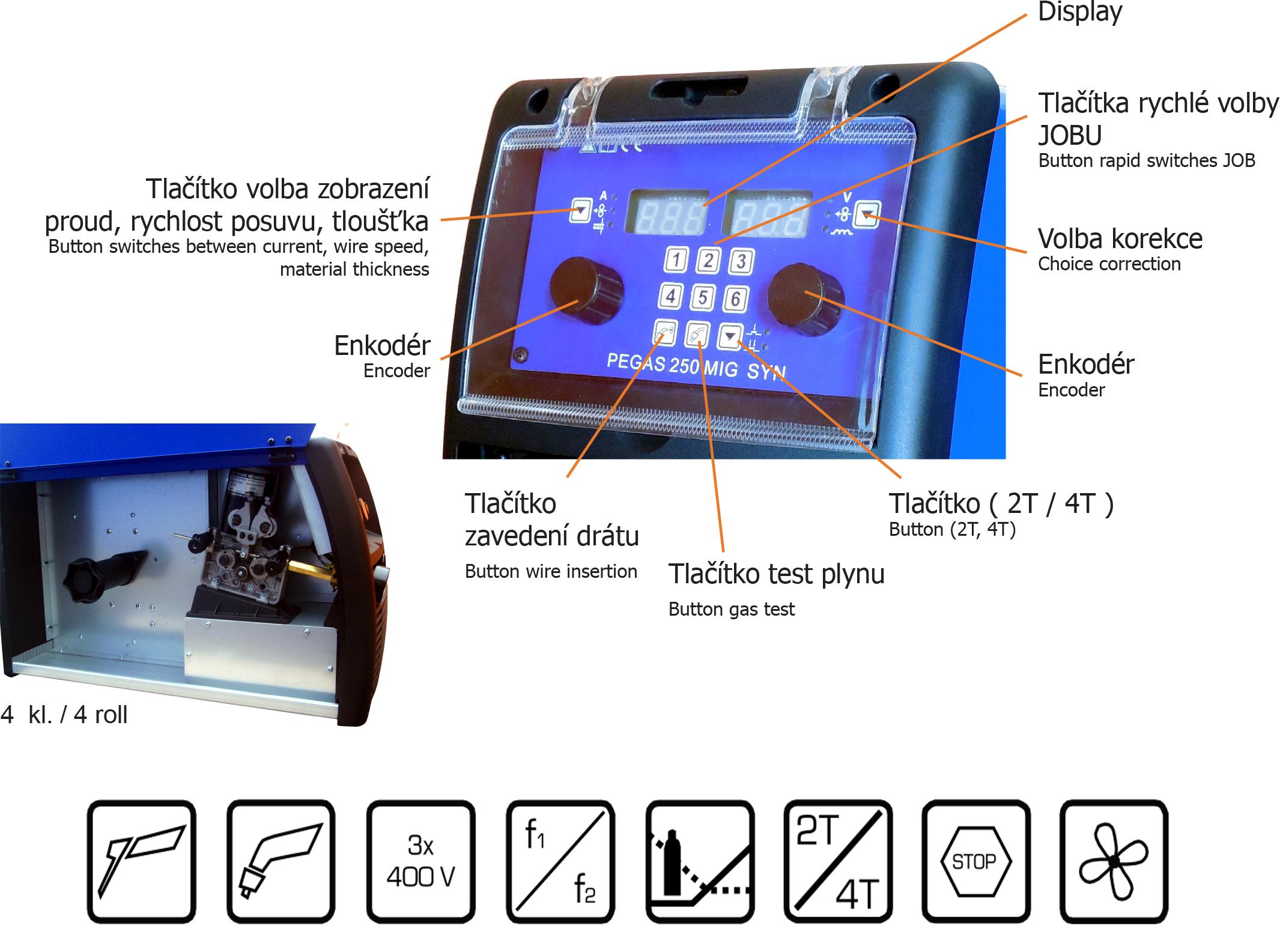 Zváračky CO2 predaj - Zváračky MIG MAG. 8dc897bee0